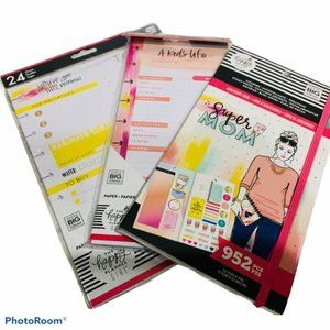 NIP 3-pc Happy Planner SUPER MOM bundle